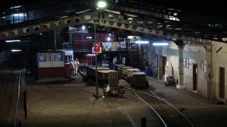Zonguldak'ta madende fenalaşan işçi kalp krizinden öldü