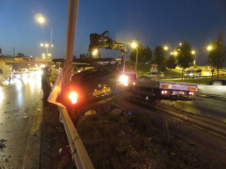 Maltepe feci kaza: 1'i ağır, 2 yaralı