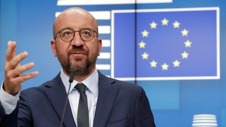 AB Konseyi Başkanı Michel: Doğu Akdeniz konusunda Türkiye'ye karşı tüm seçenekler masada