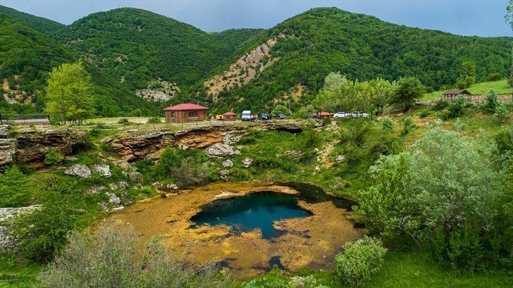 Gören hayran kalıyor! Sivas'ın eşsiz güzelliği Sarısuvat Kanyonu