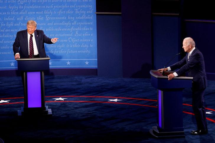 Trump: Biden çok zayıf görünüyordu ve sürekli sızlanıyordu