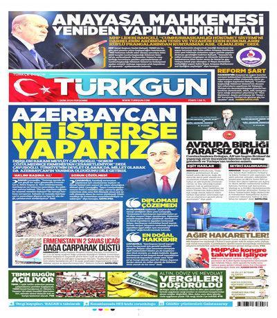 Türkgün  Gazetesi oku