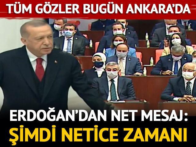Meclis'te yeni yasama dönemi başladı!