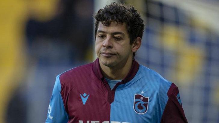 Trabzonspor'da Guilherme'nin sözleşmesi feshedildi