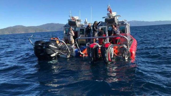 Gölde boğuldu, cesedi 450 metre derinlikte bulundu