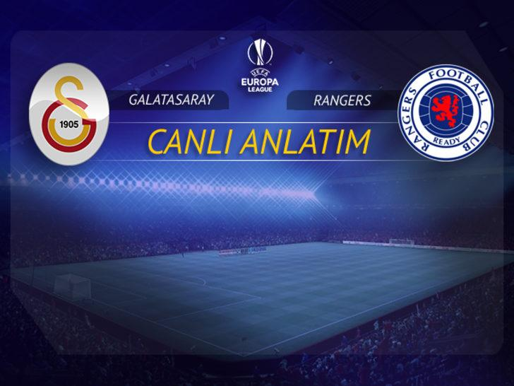 Rangers - Galatasaray   CANLI