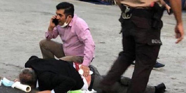 Kayseri'de şoke eden olay! Sokak ortasında sırtından vuruldu