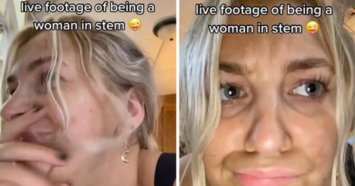 Kadın öğrencinin sözünü kesen öğrencilerin videosu viral oldu