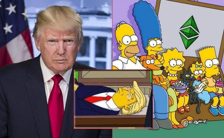 Bir kehanet daha gerçek mi oluyor? Trump'ın koronavirüse yakalanması akıllara The Simpsons'daki o sahneyi getirdi!