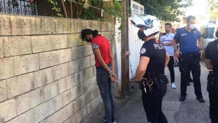 Maskesi olmadığı için polisten kaçtı, böyle yakalandı