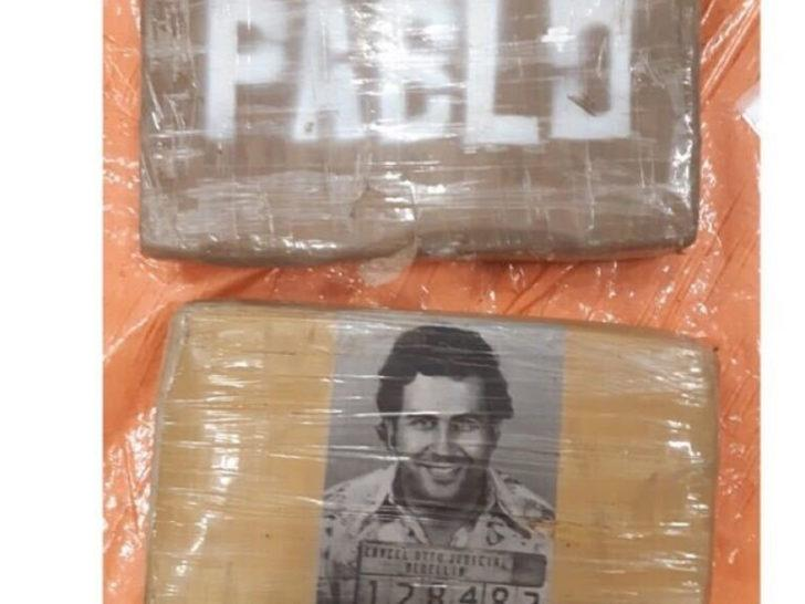Hollanda'da 'Pablo Escobar' ambalajlı yüzlerce kilo kokain ele geçirildi