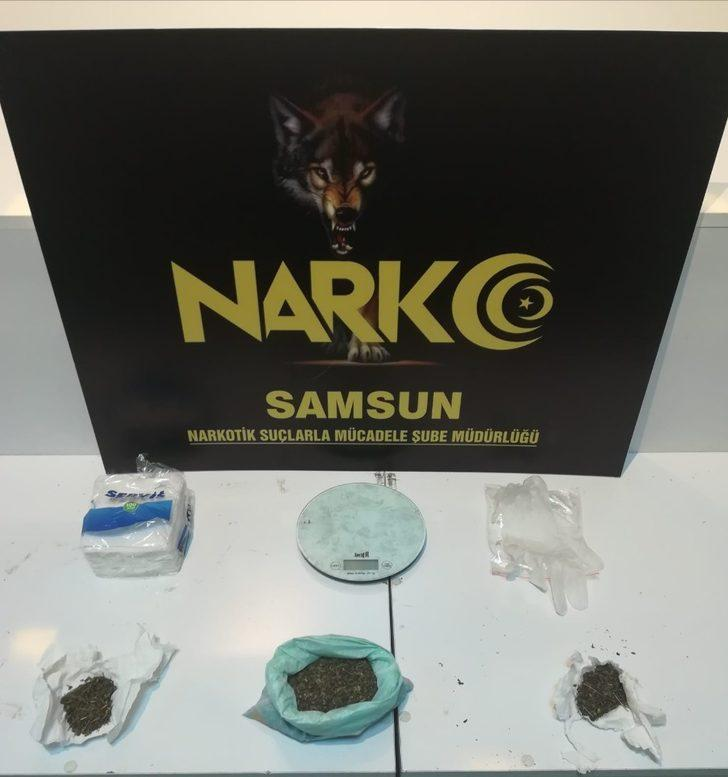 Samsun'da narkotik uygulaması: 6 gözaltı