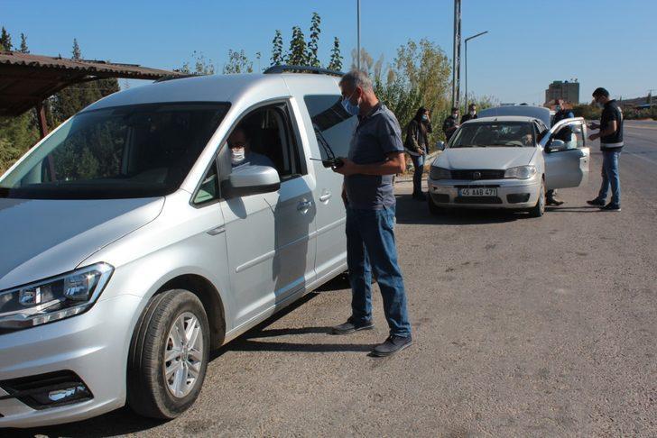 Alaşehir'de asayiş uygulaması! 6 şüpheli gözaltında