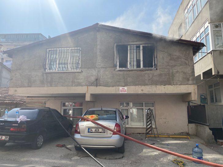 Ataşehir'de yangın paniği! Anne ve 2 çocuğunu son anda kurtarıldı