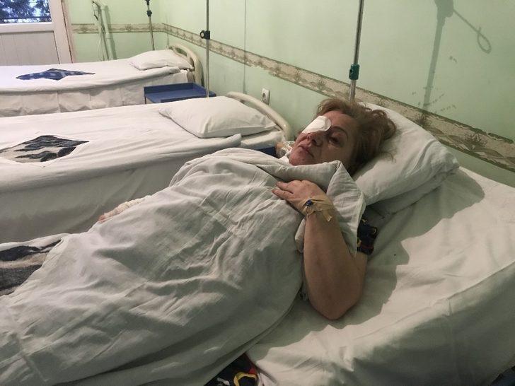 Gence saldırısında yaralanan kadın yaşadıklarını hastane odasında anlattı