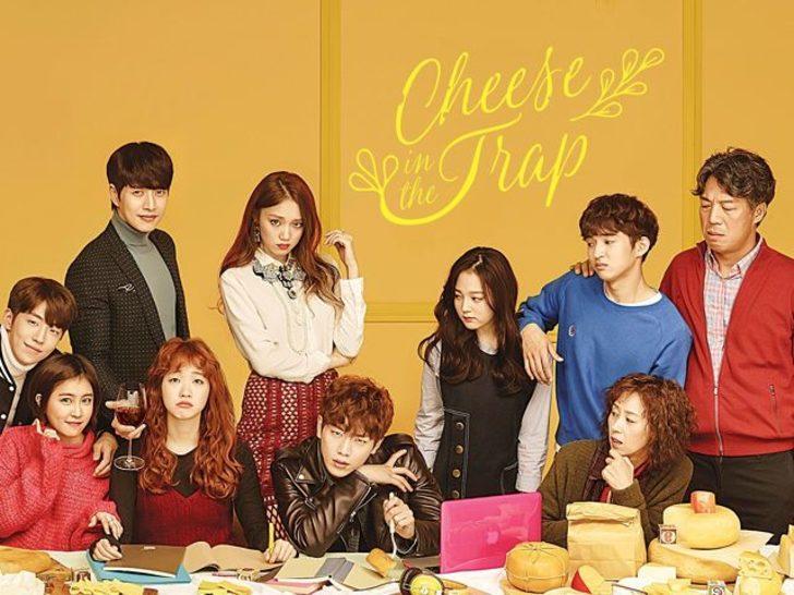 Fakir kız, zengin oğlan: Cheese in The Trap konusu ve oyuncuları