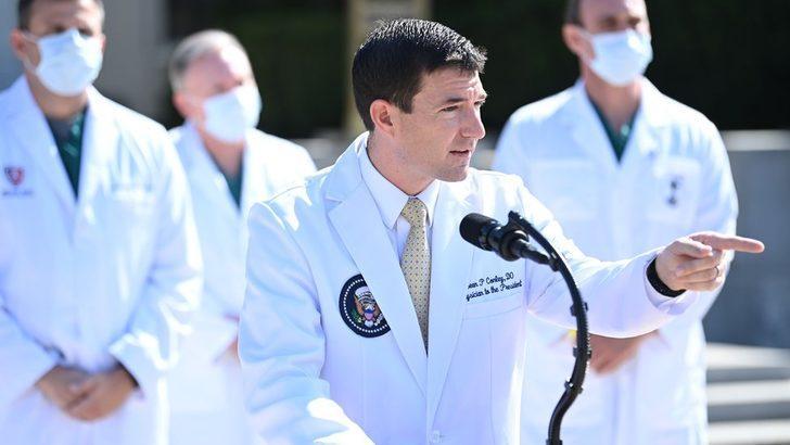 Trump'ın sağlık durumuyla ilgili olarak Beyaz Saray ile çelişen Doktor Sean Conley kimdir?