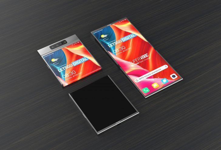 Oppo da katlanabilir ekranlı telefon üretecek