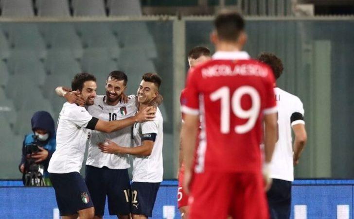 İtalya'nın şakası yok! Moldova'ya tam 6 gol birden!