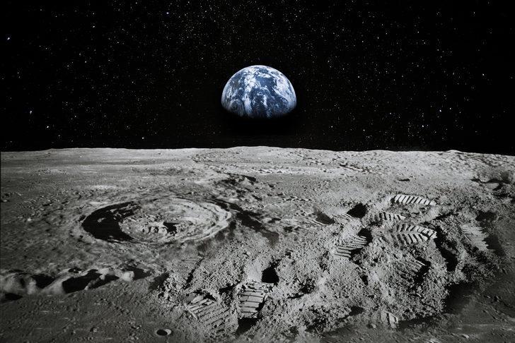NASA 1 dolara özel şirkete Ay yüzeyinden materyal toplatacak