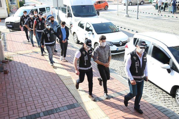 Kocaeli'de FETÖ operasyonunda yakalanan 4 kişi tutuklandı