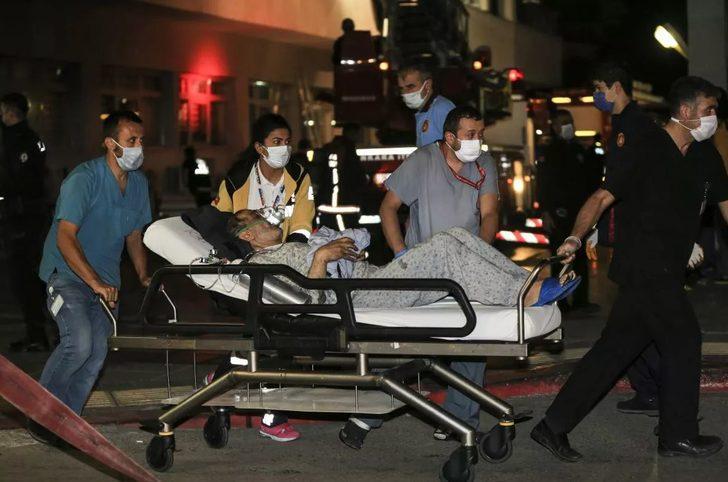Ankara'da Dışkapı Hastanesi'nde korkutan yangın! Psikiyatri hastası yatağını tutuşturdu, 100 hasta tahliye edildi