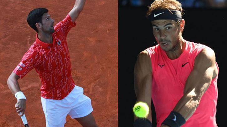Fransa Açık'ta finalin adı Novak Djokovic - Rafael Nadal