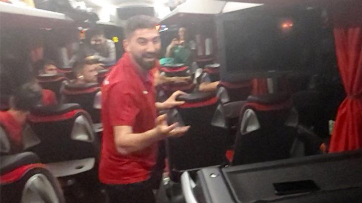 Sivasspor'da kupa coşkusu!