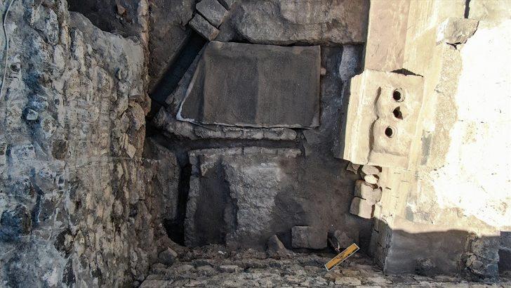 Diyarbakır Sur'da 1800 yıllık kalorifer sistemi bulundu