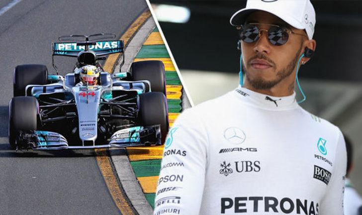 Formula 1 Eifel GP'de kazanan Hamilton