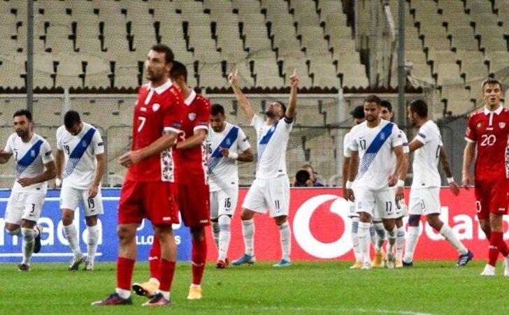 Yunanistan, Moldova'yı 2-0 mağlup etti!