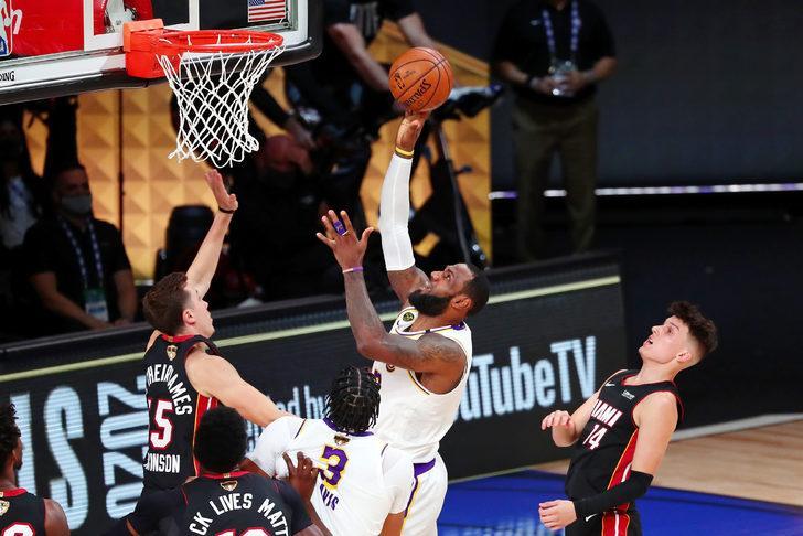NBA'de şampiyon Los Angeles Lakers!