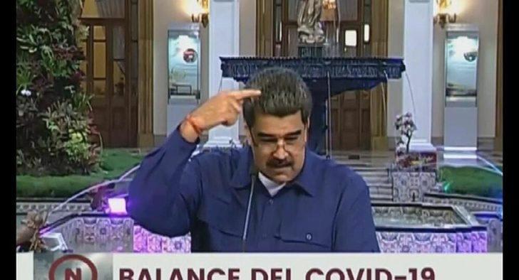 Maduro canlı yayında konan sineği ABD'ye geri gönderdi!