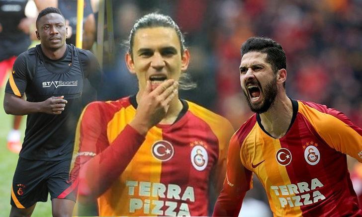 Galatasaray'a sakat futbolculardan müjdeli haber!