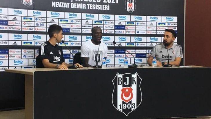 Beşiktaş'ın yıldız forveti Aboubakar resmen açıkladı! ''Sakatlığım nüksederse...''