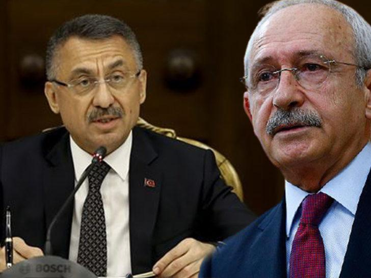 Kılıçdaroğlu'na Fuat Oktay'dan sert tepki