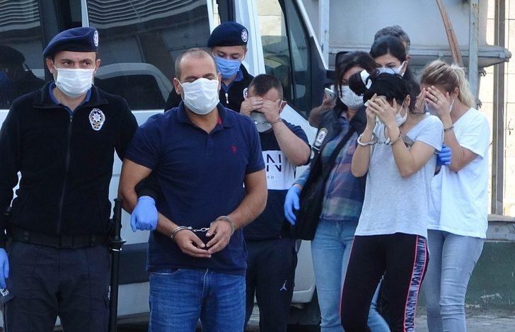 Samsun'da 20 bin 689 uyuşturucu hapla yakalanan 4 kişi tutuklandı