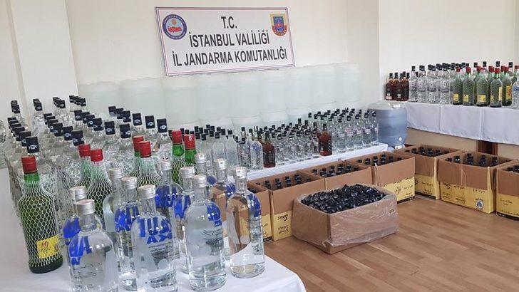 İstanbul Valiliği sahte içki operasyonlarının bilançosunu açıkladı