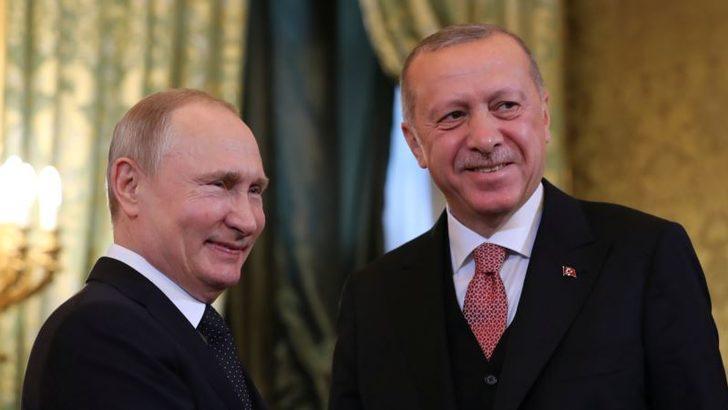 Erdoğan ve Putin Dağlık Karabağ'ı Konuştu