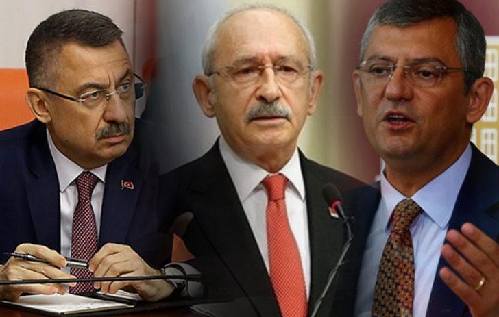 Cumhurbaşkanı Yardımcısı Fuat Oktay'dan Kılıçdaroğlu ve Özel'in sözlerine cevap