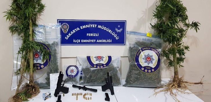 Sakarya İl Emniyet Müdürlüğü ekipleri uyuşturucu tacirlerine göz açtırmıyor