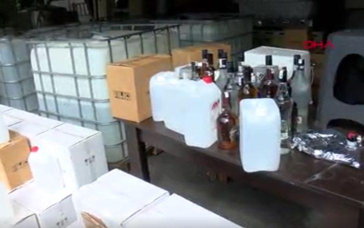Sahte içki soruşturmasında şoke eden detay: Dezenfektanla yapmışlar