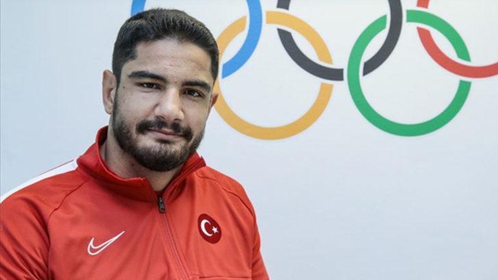 Milli güreşçi Taha Akgül'ün hedefi altın madalya