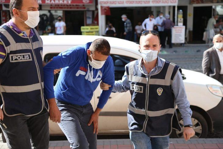 Çalıştığı marketi soyan şahıs tutuklandı