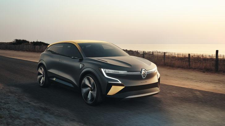 Elektrikli Megane: Renault Megane eVision tanıtıldı! İşte özellikleri