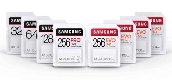 Samsung, profesyonellere yönelik SD kart çözümlerini tanıttı