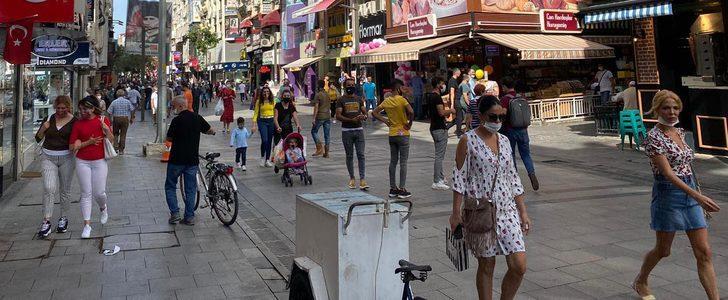 Vaka sayısı artan İzmir'de vatandaşın rahatlığı şaşırttı