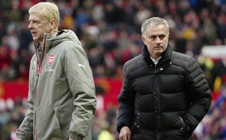 Mourinho'dan Wenger'e ince mesaj