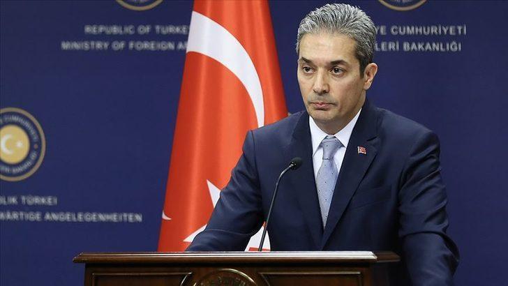 Türkiye'den, Yunanistan Dışişleri Bakanı Dendias'ın iddialarına cevap