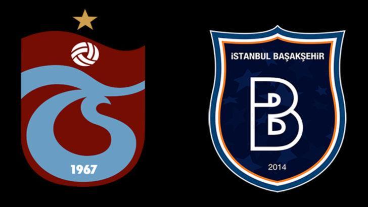 Trabzonspor - Başakşehir maçı ne zaman, hangi kanalda, saat kaçta? Trabzonspor - Başakşehir muhtemel 11'ler